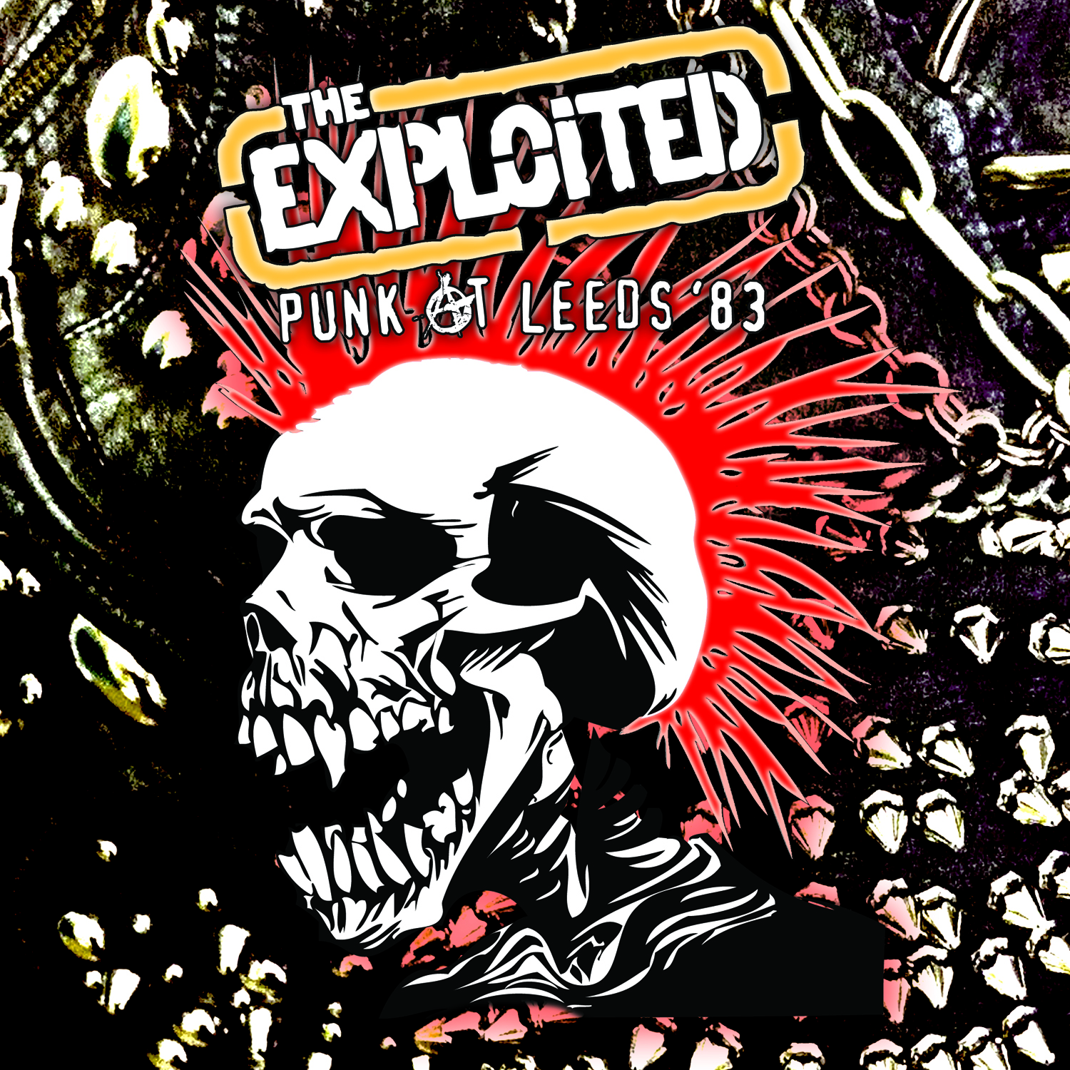 The Exploited Punk At Leeds 83 Lp Cleopatra Records