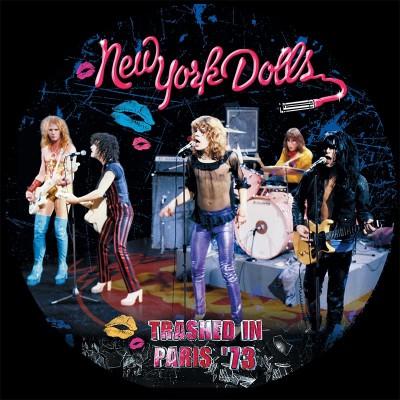 New York Dolls - Trashed In Paris '73 (LP)