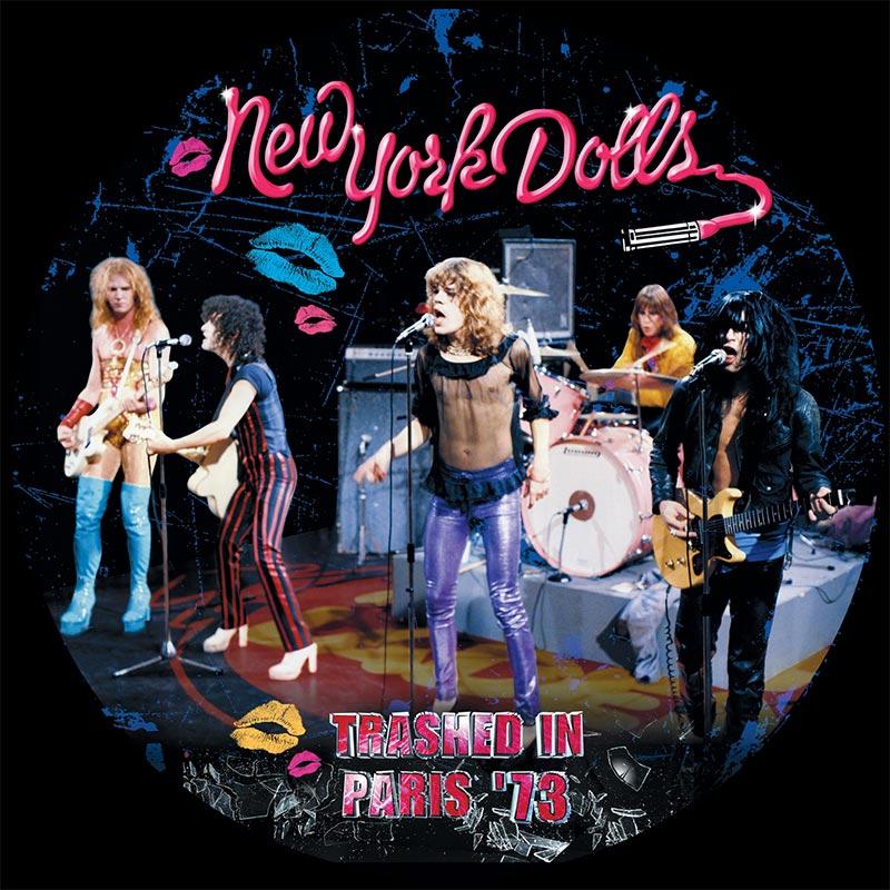 New York Dolls Trashed In Paris 73 Lp Cleopatra