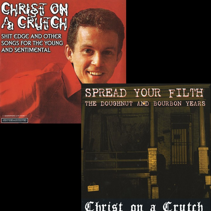 Christ On A Crutch - (2 LP Set)