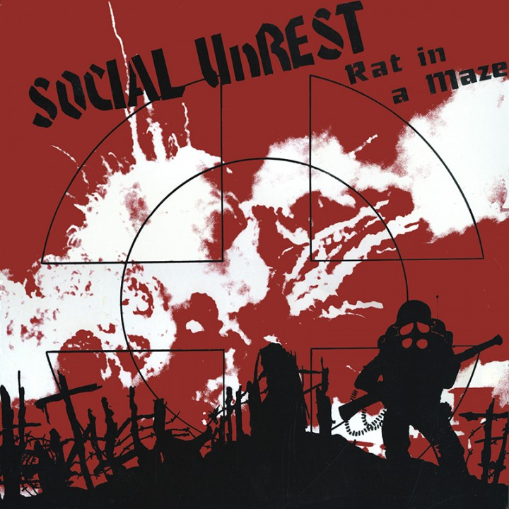 Social Unrest - Rat In A Maze (LP)