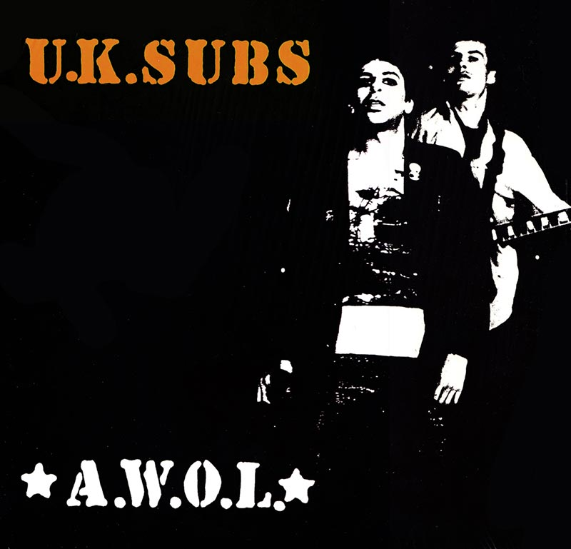 Uk Subs A W O L Cd Cleopatra Records Store