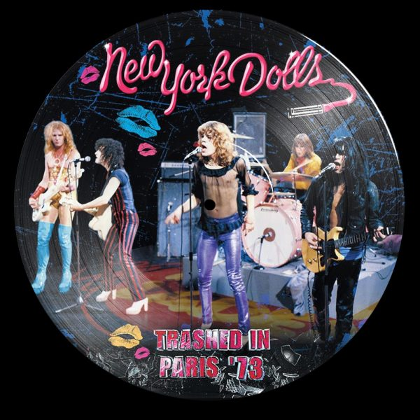 New York Dolls - Trashed In Paris '73 (PD)