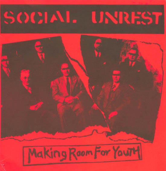 "Social Unrest - Making Room For Youth (7"" LP)"