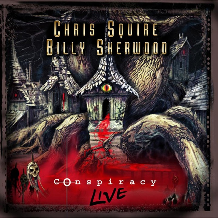 Chris Squire & Billy Sherwood - Conspiracy - Live (CD+DVD)