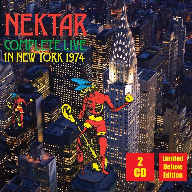 Nektar - Complete Live In New York 1974