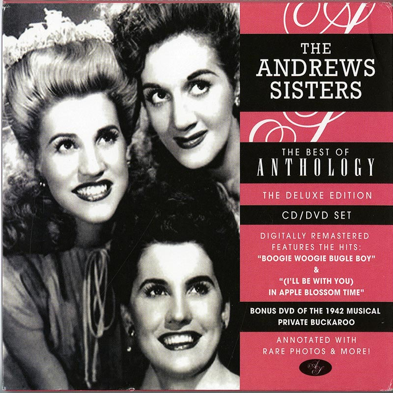 The Andrews Sisters - The Best Of Anthology (CD+DVD)