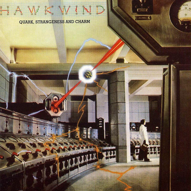 Hawkwind - Quark, Strangeness And Charm