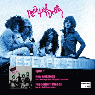 "New York Dolls / Peppermint Creeps - Personality Crisis / Rock And Roll Love Letter (7"" LP)"
