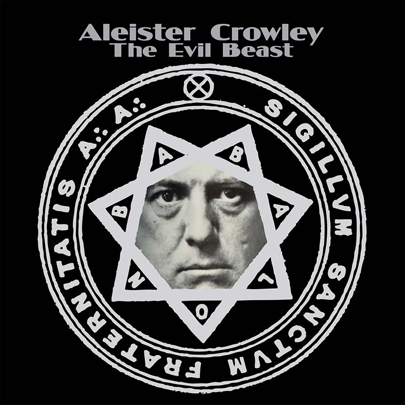 Aleister Crowley The Evil Beast Lp Cleopatra Records