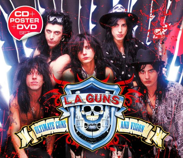 L.A. Guns - Ultimate Guns And Vision (CD+DVD)