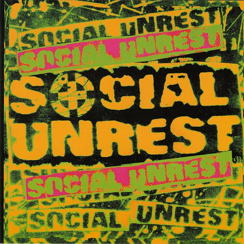 "Social Unrest - Social Unrest (7"" LP)"