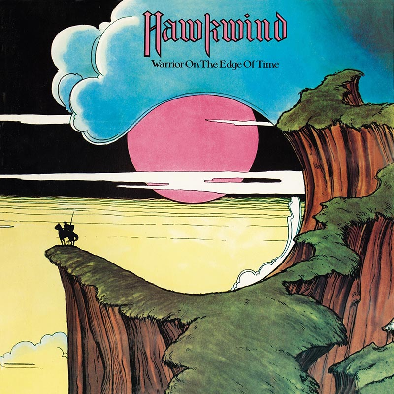 Les Pochettes d'albums - Page 3 0555-HAWKWIND-Warrior