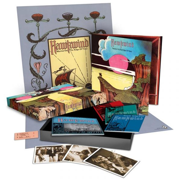 Hawkwind - Warrior On The Edge Of Time - Super Deluxe Box Set (2CD+DVD+LP)