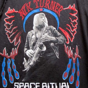 Nik Turner - Space Ritual Psychedelic Warlord (Shirt)