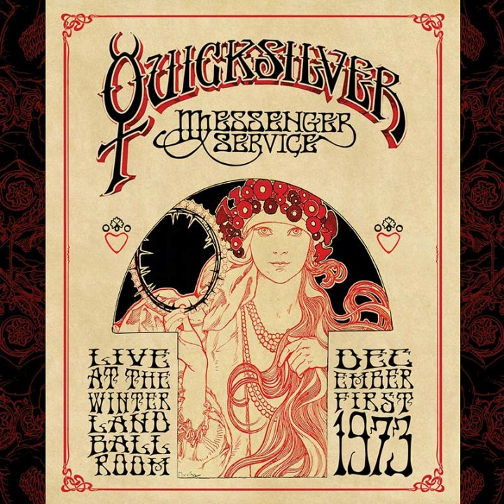 Quicksilver Messenger Service - Live At The Winterland Ballroom - Dec. 1, 1973