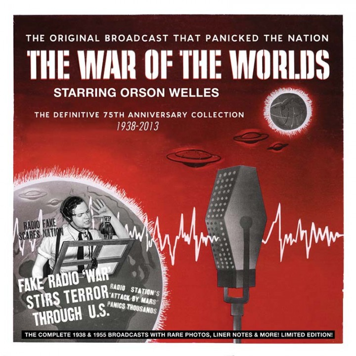 Orson Welles - The War Of The Worlds - The Definitive 75th Anniversary Collection 1938-2013