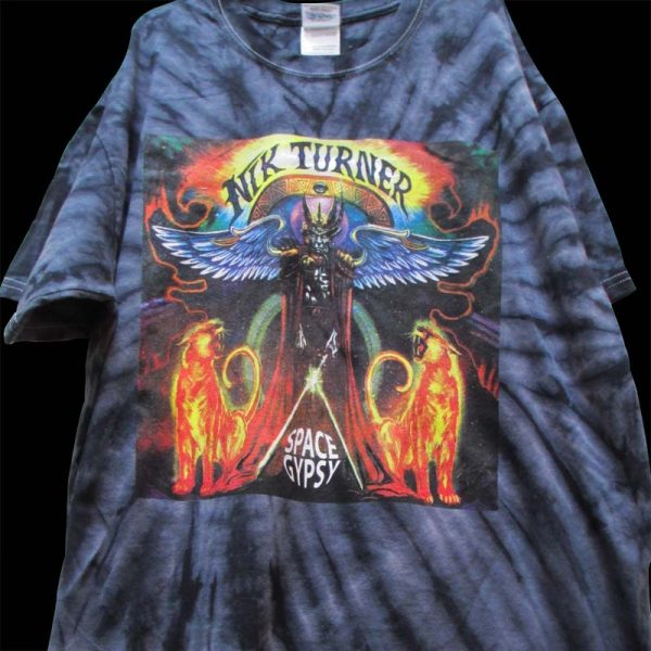 Nik Turner - Space Gypsy (Tye Dye T-Shirt)