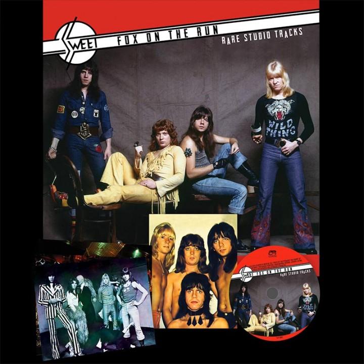 Sweet - Fox On The Run - Rare Studio Tracks (LP)