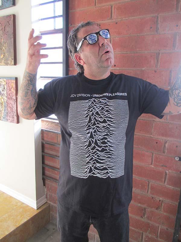 Joy Division Unknown Pleasures T Shirt Imported