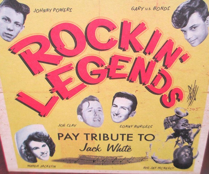 Rockin Legends Pay Tribute To Jack White Cd Cleopatra
