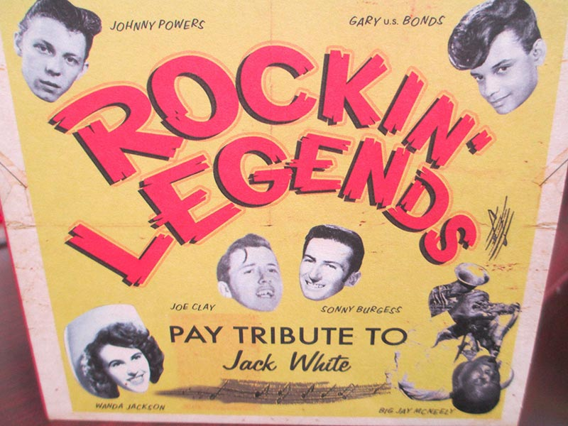 Rockin' Legends Pay Tribute To Jack White