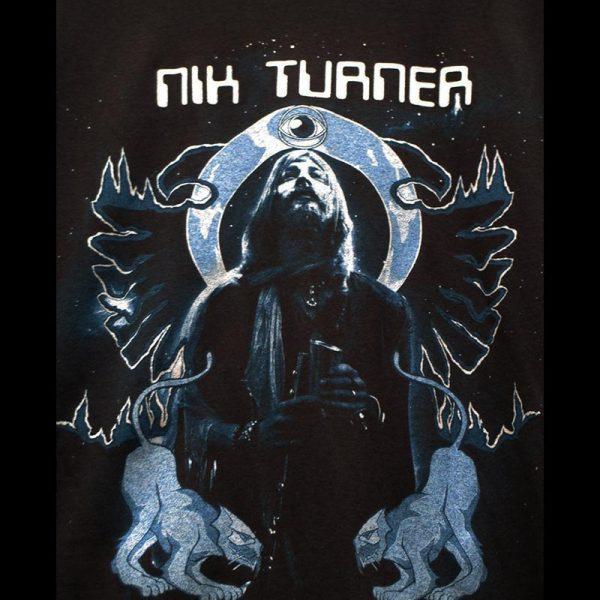 Nik Turner's Hawkwind (T-Shirt / Blue)