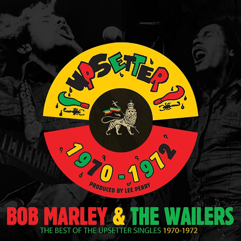 Bob Marley - The Best Of The Upsetter Singles 1970-1972 (7'' Vinyl Box)