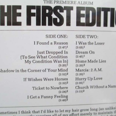 Kenny Rogers & The First Edition - The First Edition (LP)