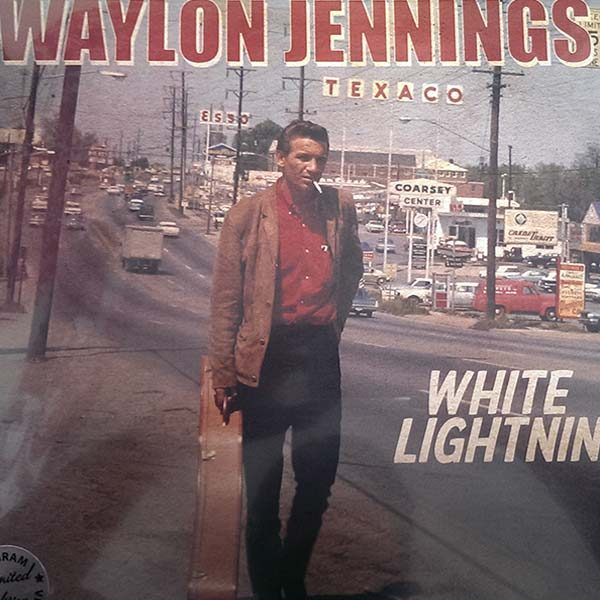 Waylon Jennings - White Lightnin' (LP)