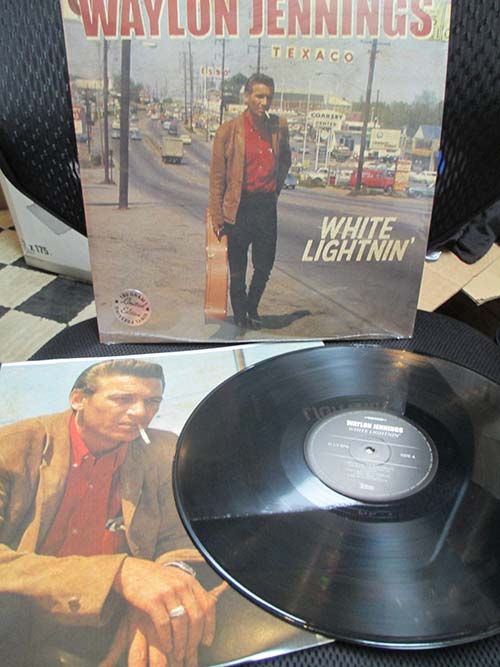 Waylon Jennings White Lightnin Lp Cleopatra Records