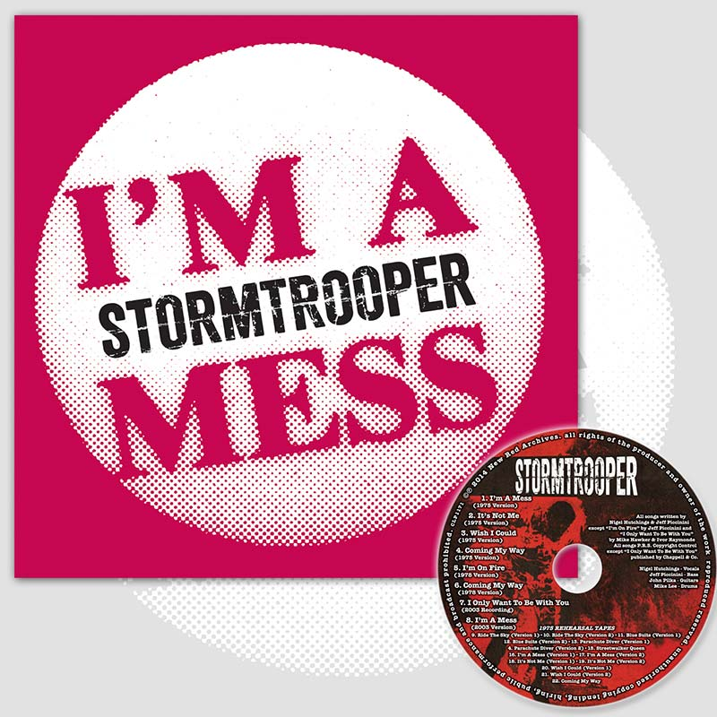 "Stormtrooper - I'm A Mess (7"" LP - LIMITED EDITION)"
