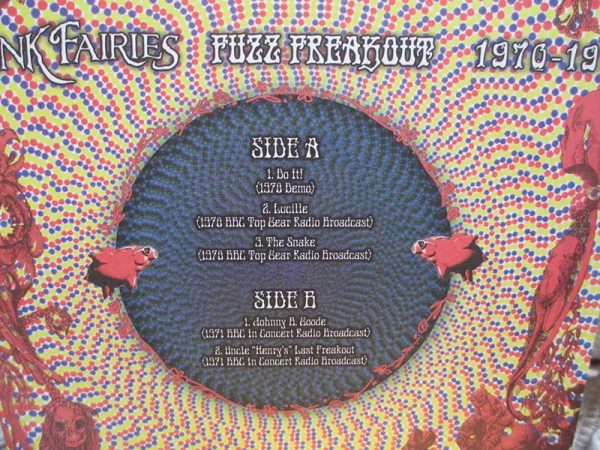 The Pink Fairies - Fuzz Freakout 1970-1971 (LP)