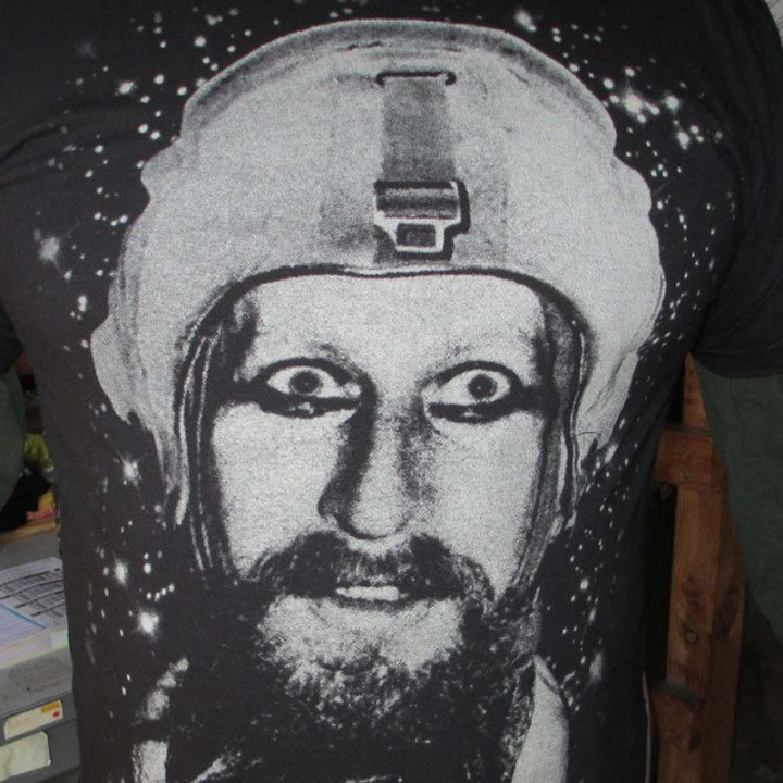 Nik Turner - Space Face (T-Shirt)