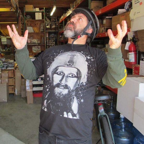 Nik Turner - Space Face (T-Shirt)
