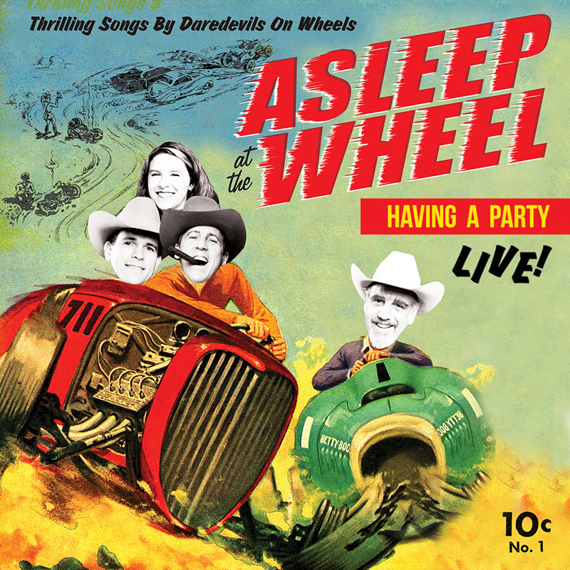 Asleep At The Wheel - Havin' a Party - Live (LP)