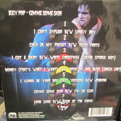 """Iggy Pop - Gimme Some Skin - (The 7"""" LP Collection)"""