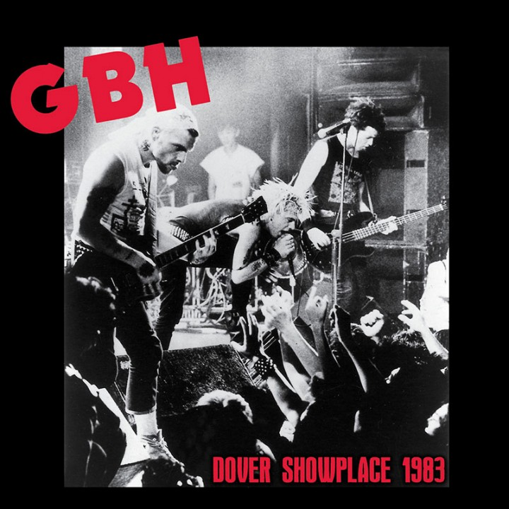G.B.H. - Dover Showplace 1983 (LTD Colored Red LP)
