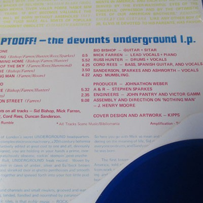 The Deviants - Ptooff! (Limited Edition Re-Issue - LP)