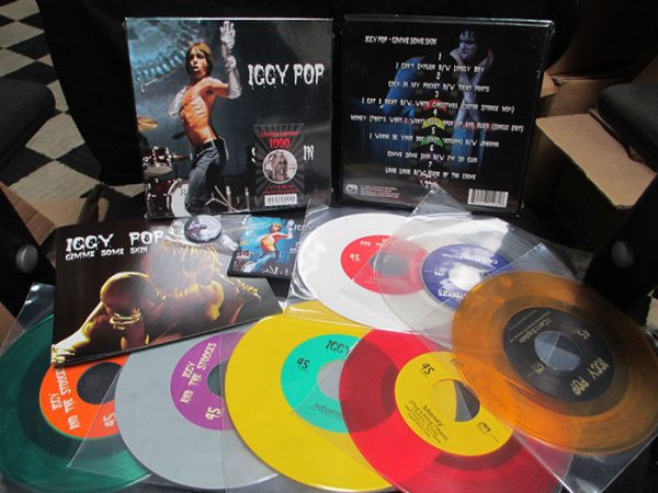 "Iggy Pop - Gimme Some Skin - (The 7"" Color LP Collection)"