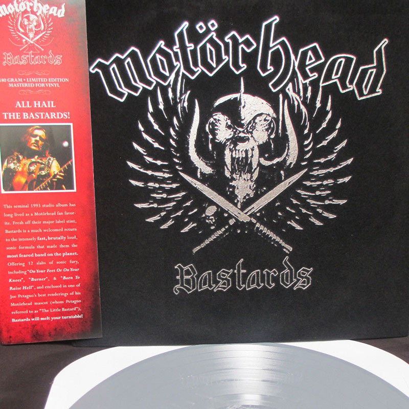 Motorhead - Bastards (Limited Edition Velvet w/ Colored Silver LP)