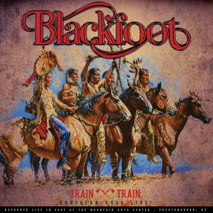Blackfoot Train Train Southern Rock Live Lp