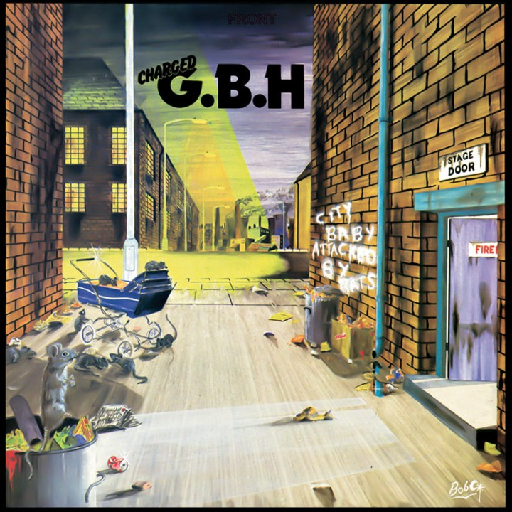 G.B.H. - City Baby Attacked By Rats (Blue LP)