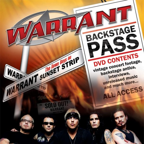 Warrant - They Came From Hollywood (DVD)