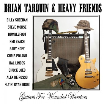 Brian Tarquin & Heavy Friends - Guitars For Wounded Warriors (CD)