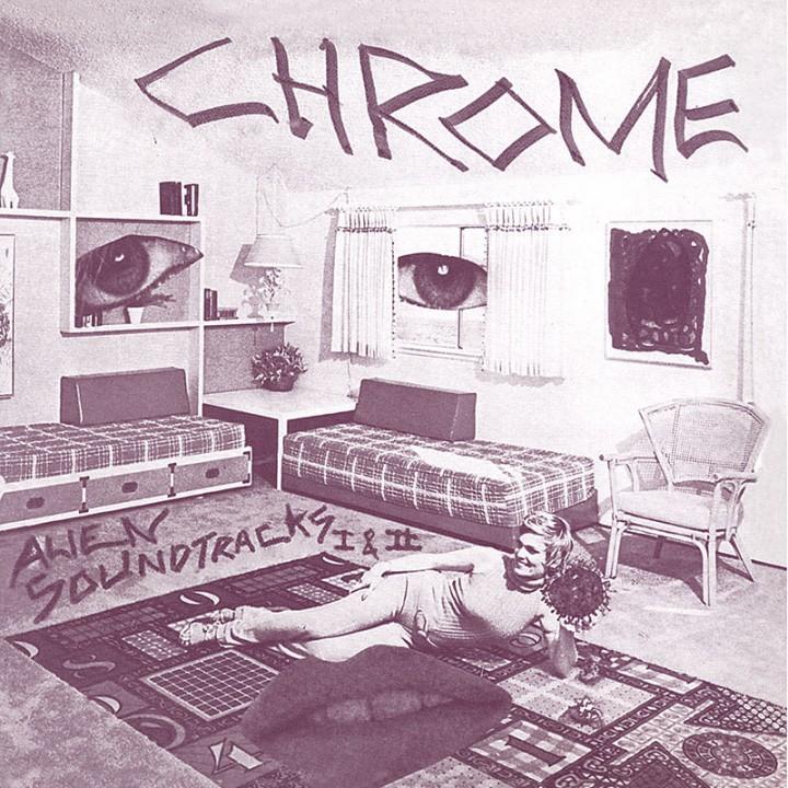 Chrome - Alien Soundtracks I & II (CD)