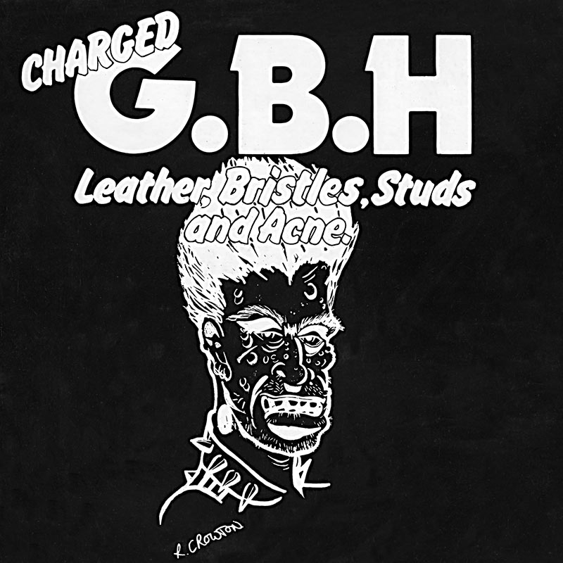 G.B.H. - Leather, Bristles, Studs And Acne (LP)