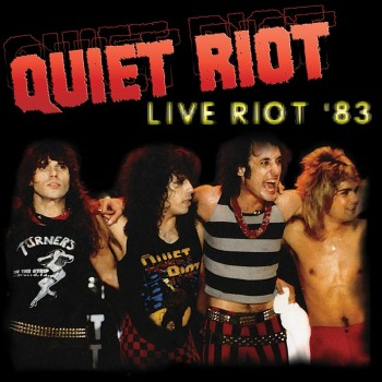 Quiet Riot - Live Riot '83 (Limited Edition Colored LP)