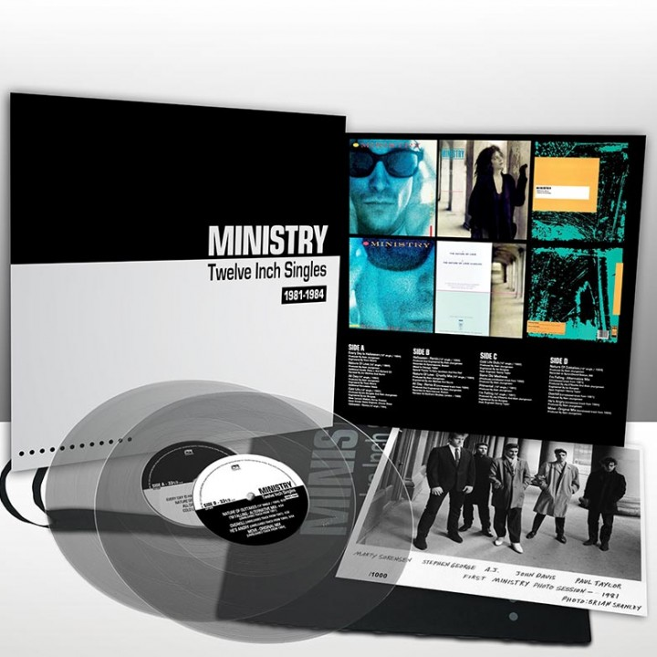 Ministry - Twelve Inch Singles - Expanded Edition (Limited Edition LP w/ Bag)