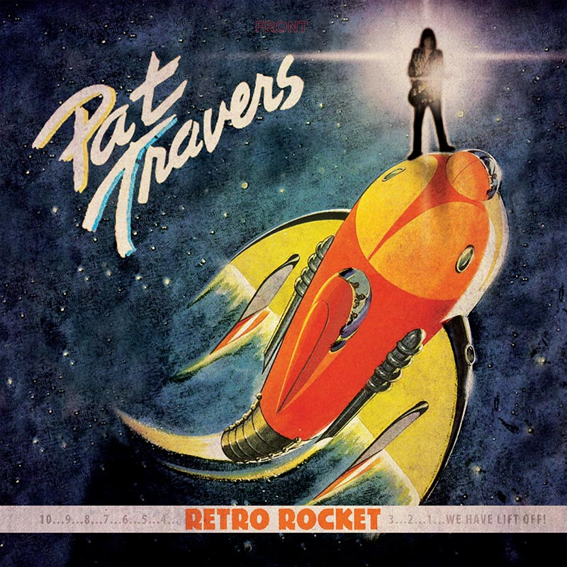 Pat Travers - Retro Rocket (CD)